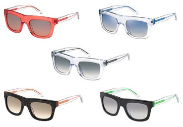 A Fluorescent Personality for the new Marc by Marc Jacobs Eyewear for Spring/Summer 2013