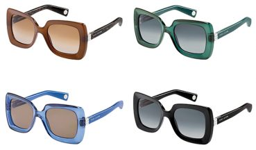 Retro elegance for the new Marc Jacobs 2013 Collection of sunglasses