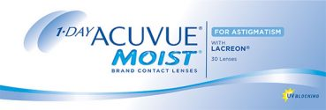 ACUVUE® launches a new daily disposable contact lens for patients who have Astigmatism
