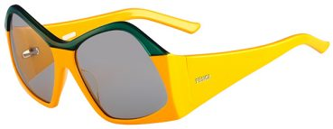 Fendi's geometric sunglasses from S/S 2013 collection