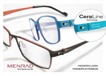 MENRAD Launches CeraLine Eyewear Fall/Winter 2014 Collection
