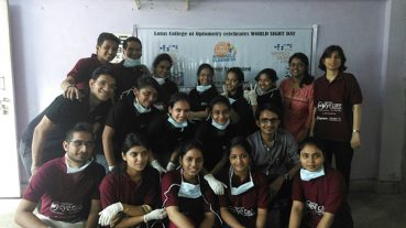 Lotus College Of Optometry Celebrates World Sight Day