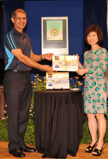 Coffee Table Book To Commemorate 10 Years Of AMD Awareness Week Launched In Singapore