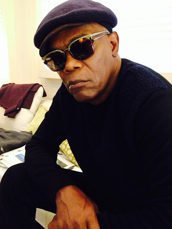 Samuel L. Jackson Spotted Wearing Police Sunglasses