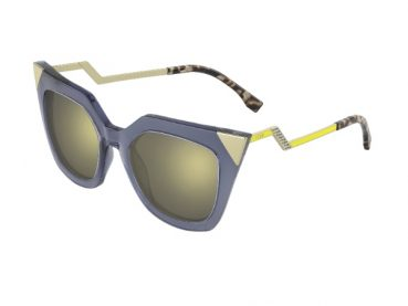 Fendi's Fall/Winter 2014-2015 Sunglasses Collection Celebrates Geometric Architectures
