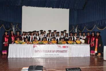 XIth Convocation Ceremony Of The Lotus College Of Optometry