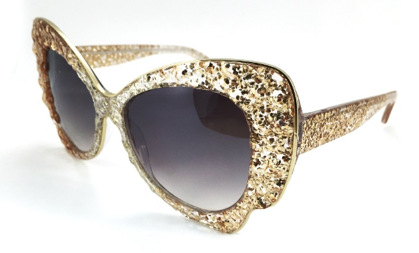 Okia Introduces 'HD Sparkle' – Sunglasses With Real Lace Decorations