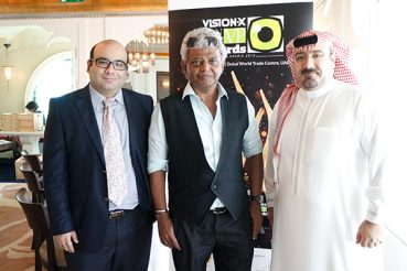 Mamdoh Rouhani Of Saudi Optics House, Jury At Vision-X VP Awards 2015