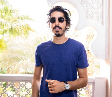 Dev Patel Spotted Wearing Montblanc Sunglasses
