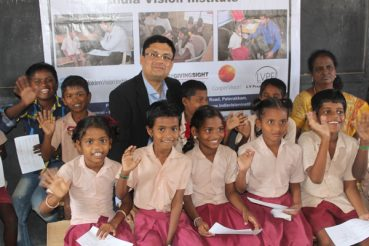 CooperVision Supports Vision Screening For Underprivileged School Children