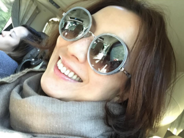 Popular Female Singer Sammi Cheng Wears Jimmy Choo Sunnies