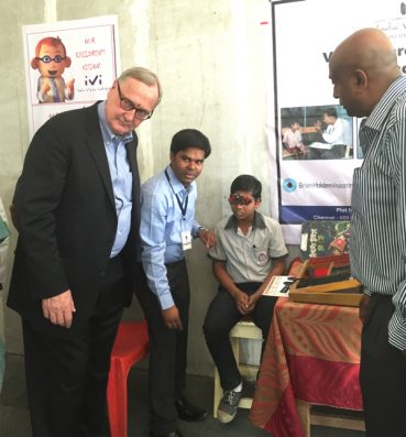 IVI Hosts Vision Screening For Underprivileged School Children