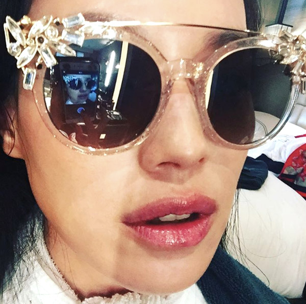 Shu Qi Wears Jimmy Choo Sunnies