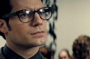 Clark Kent's signature frame is designed by Tom Davies