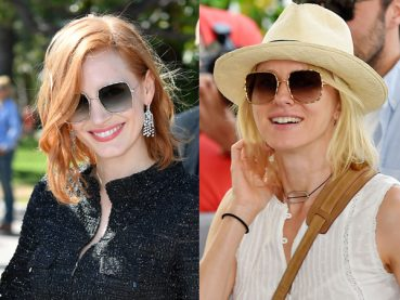 Celebrities Wear Elie Saab Sunglasses