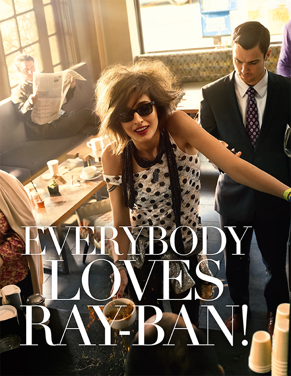 Everybody Loves Ray-Ban!