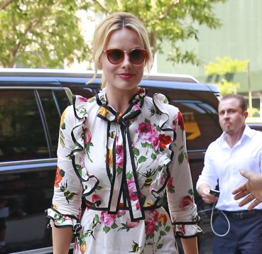 Margot Robbie Wears Jimmy Choo Sunglasses