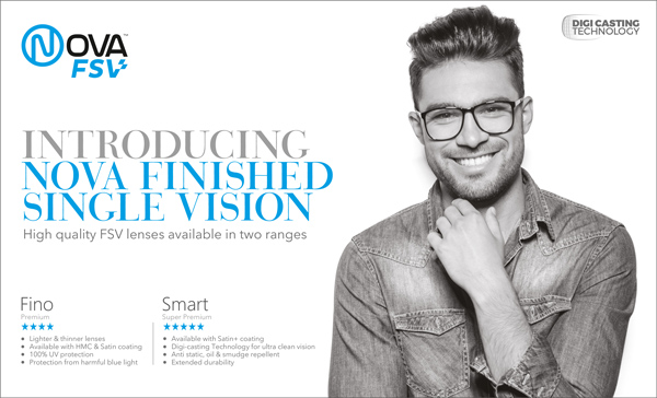 Vision Rx Lab Brings Nova FSV High Quality Lenses