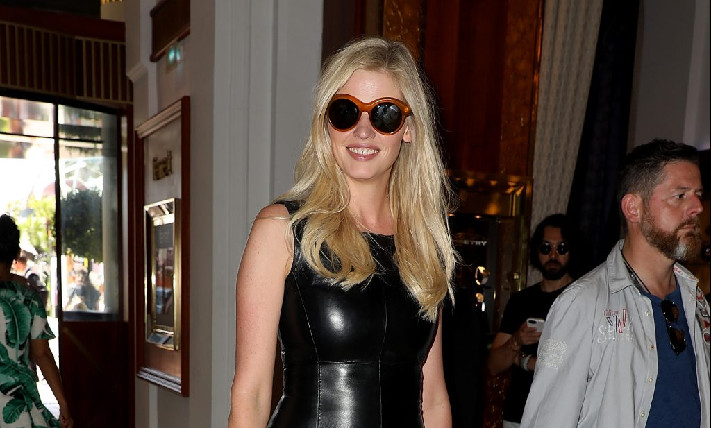 Lara Stone In Givenchy Sunglasses At Cannes!