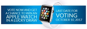 Vision-X VisionPlus Awards 2017: Vote Now And Win An Apple Watch!