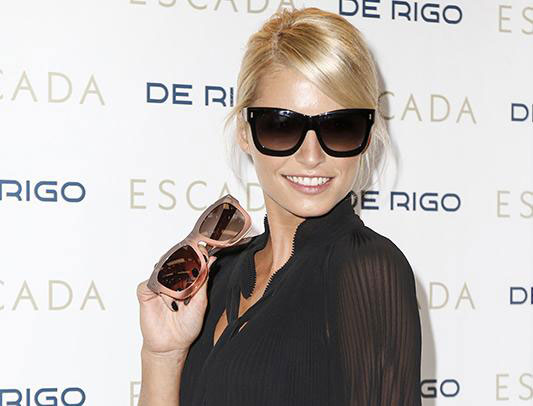 472cc4c622e SES404  The model is part of the 2016 spring summer collection of eyewear  by Escada. It flaunts classic