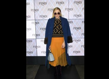 Chloe Grace Moretz In Fendi At The Milan Fashion Week!