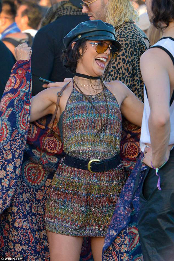 Coachella Might Be Over, But We Can't Get Over Vanessa Hudgens!