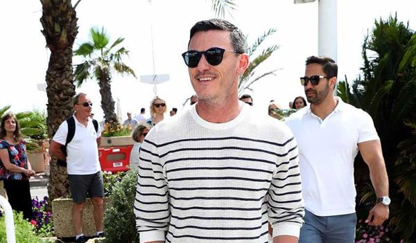 Luke Evans Spotted In Polaroid!