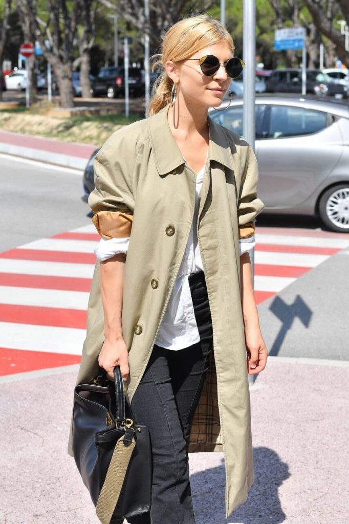 Clemence rocking the chic look with Fendi Cut Eye!