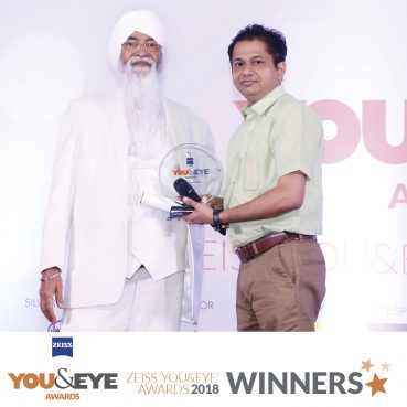 Mukta Optics, Goa Wins Best CSR Initiative in ZEISS 'YOU&EYE' AWARDS 2018
