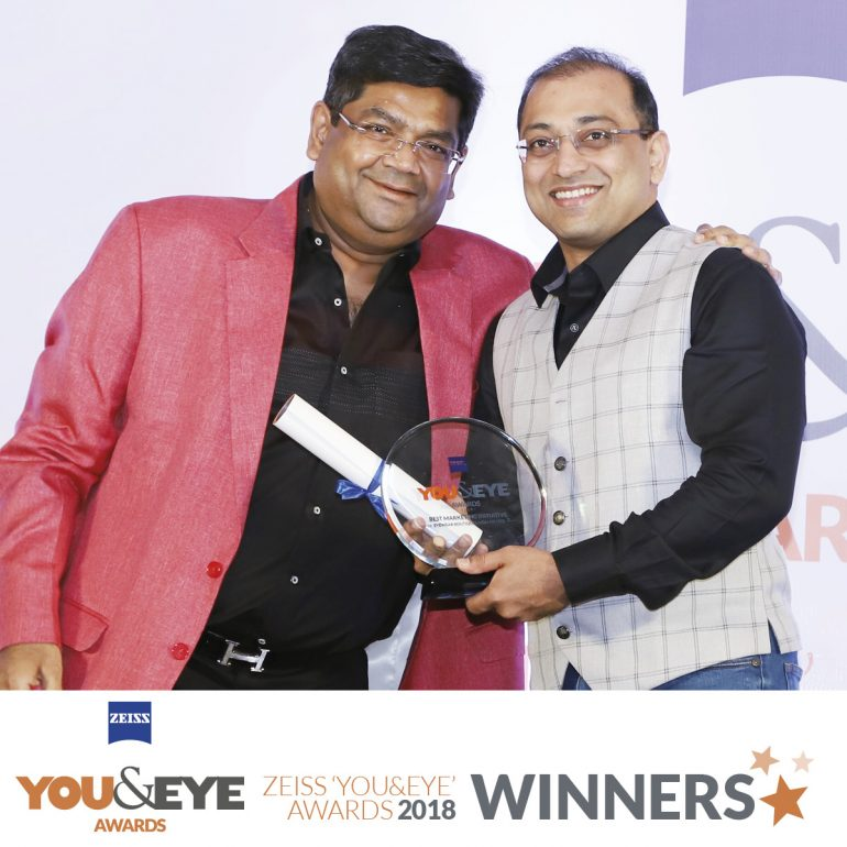 ABC Chashmewale, Lucknow Wins Best Eyewear Retailer – Boutique Stores (Non-Metros) in ZEISS 'YOU&EYE' AWARDS 2018