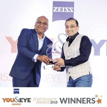 Himalaya Optical, Kolkata Wins Best Eyewear Retailer Award for Retail Chains (All India) in ZEISS 'YOU&EYE' AWARDS 2018