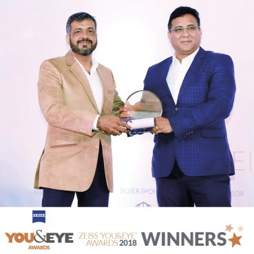 Foursight Opticians, Noida Wins Best Store Display and Design – Boutique Store (Non-Metros) in ZEISS 'YOU&EYE' AWARDS 2018