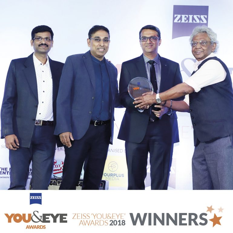 Titan Eye Plus Wins Best Store Display and Design – Retail Chains (All India) in ZEISS 'YOU&EYE' AWARDS 2018