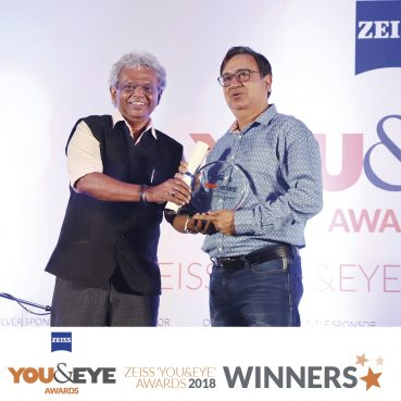 Phiroze M. Dastoor & Co., Mumbai Wins Excellence In Clinical Support – Boutique Store (Metros) in ZEISS 'YOU&EYE' AWARDS 2018