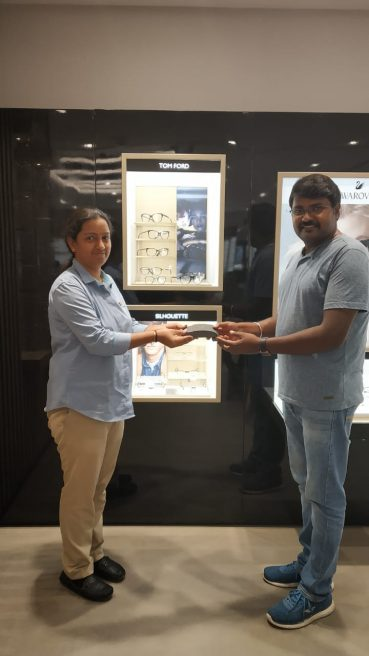 Congratulations to Dileep on winning Silhouette frame!