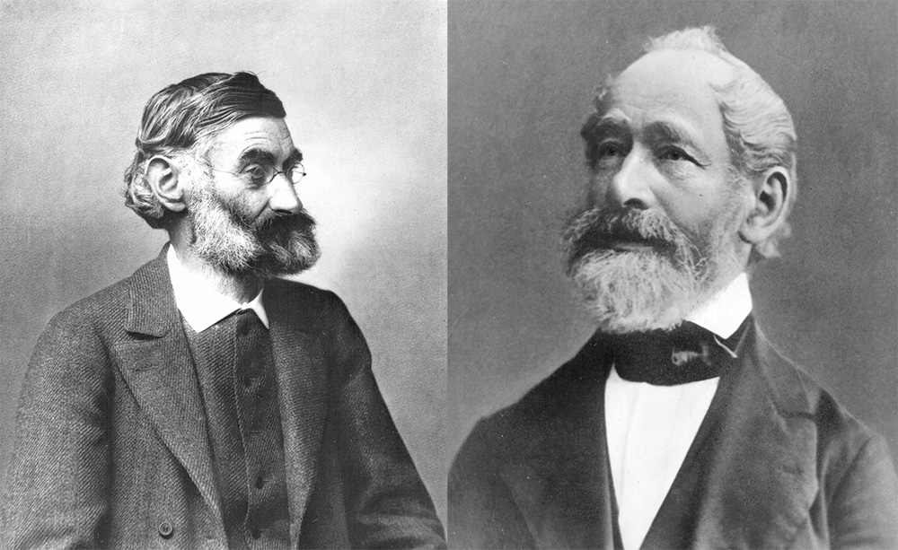 Founding Fathers Carl Zeiss and Ernst Abbe
