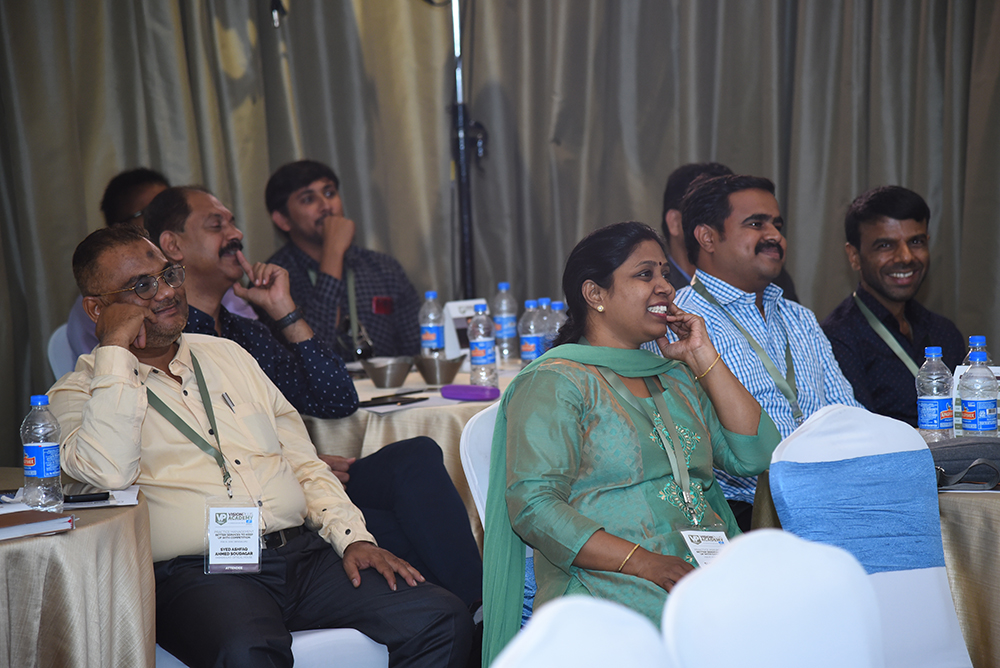 A section of the audience at VP Academy Bengaluru Edition