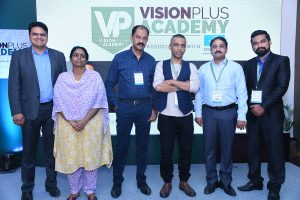 The VisionPlus and Essilor Team after the event.