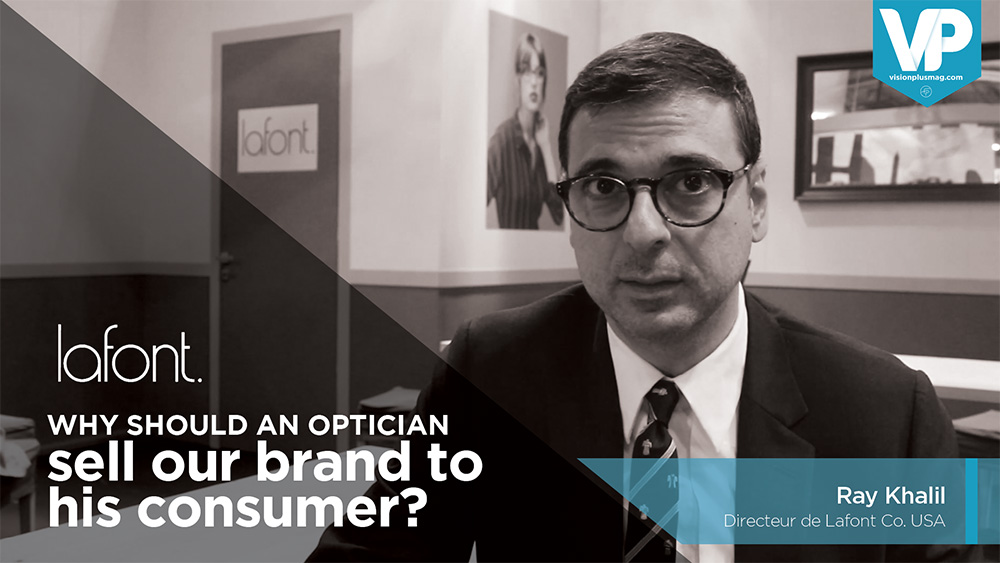 Why should an optician sell your brand to his costumer?