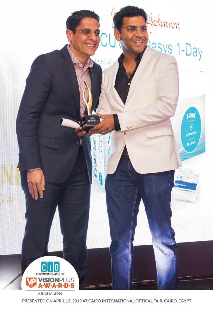 CiO VP Awards 2019: Acuvue Oasys Wins The Most Popular Ophthalmic Contact Lens