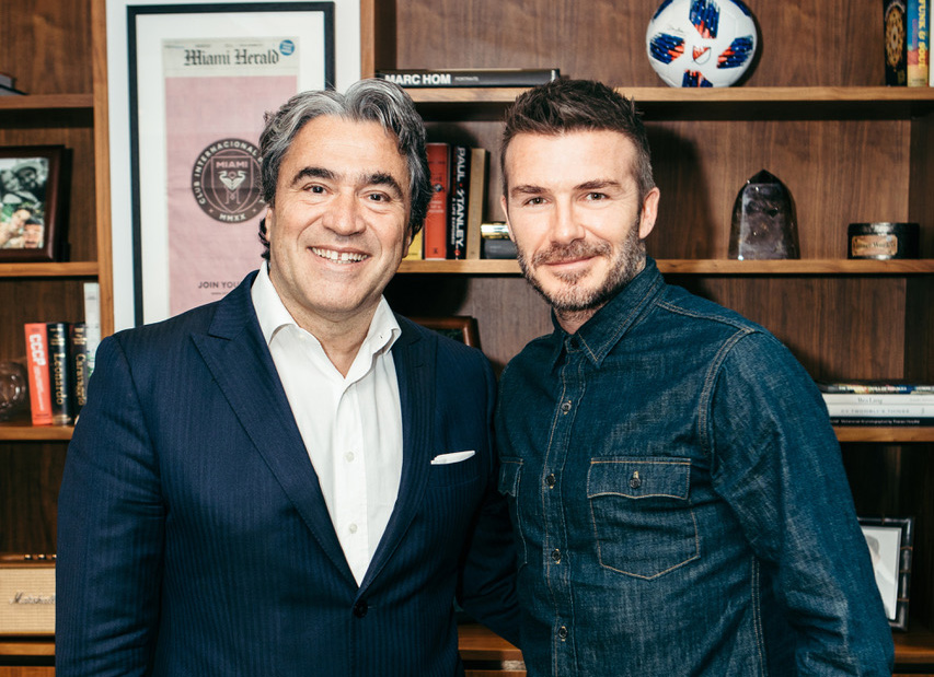 Safilo And David Beckham Announce 10-year Eyewear License Agreement