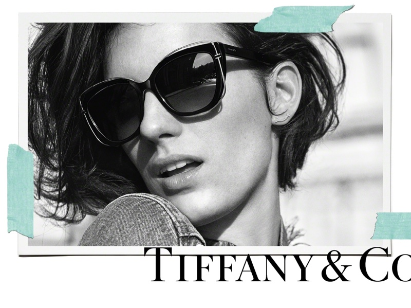 Tiffany & Co. Launches New Tiffany Paper Flowers Eyewear Collection