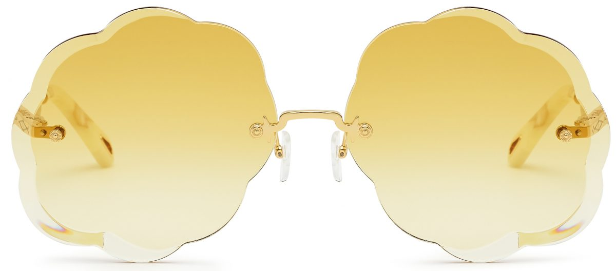 c4150f88 Cloud Shaped 'Rosie' Sunglasses From Chloe | VisionPlus Magazine