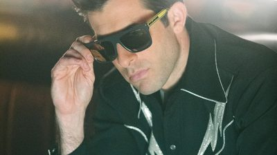Mark Ronson In Marc Jacobs Sunglasses