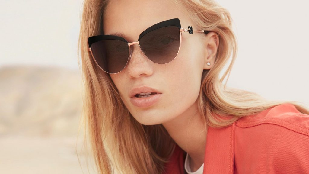 The New Swarovski Eyewear Collection Invites Women To See The World More Brilliantly