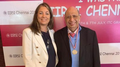 Dr. Keiki Mehta Wins A Medal For Best Surgical Video