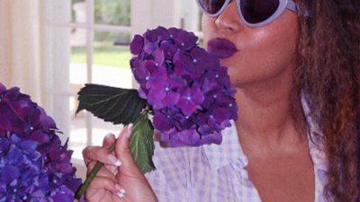 Beyoncé In Andy Wolf Eyewear