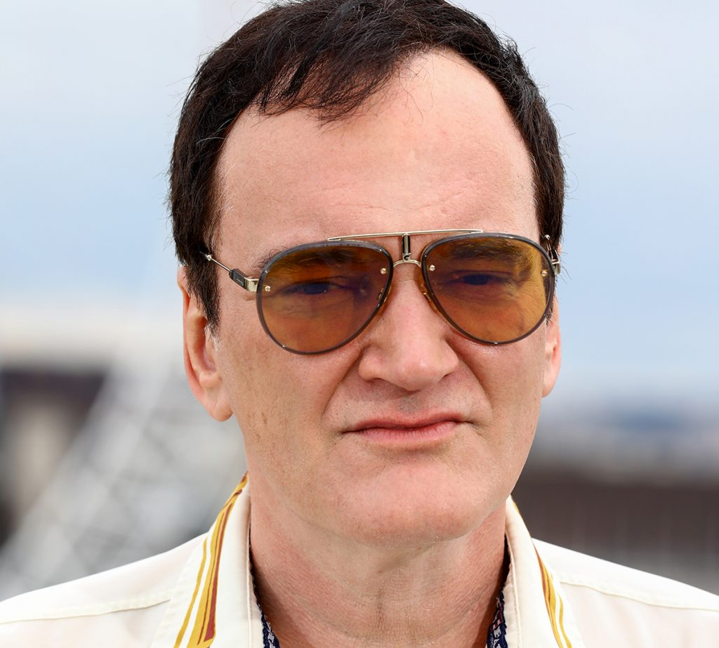 Quentin Tarantino In Carrera Glory Sunglasses