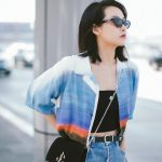 Victoria Song Wearing JC